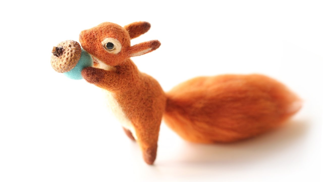 diy gifts how to make a little squirrel amazing youtube
