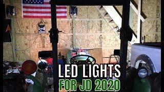 NEW AUXBEAM LIGHTS FOR THE JOHN DEERE