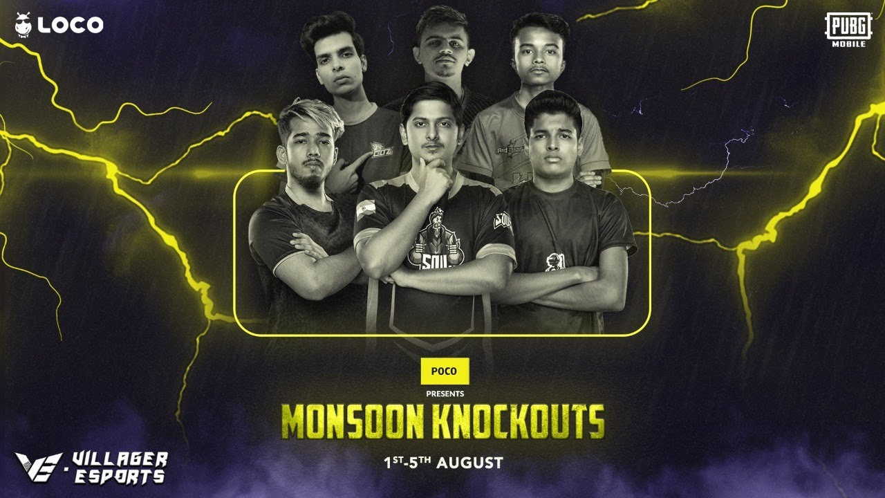 [Day 1] Loco PUBG Mobile Monsoon Knockouts • Poco x Loco x Villager Esports