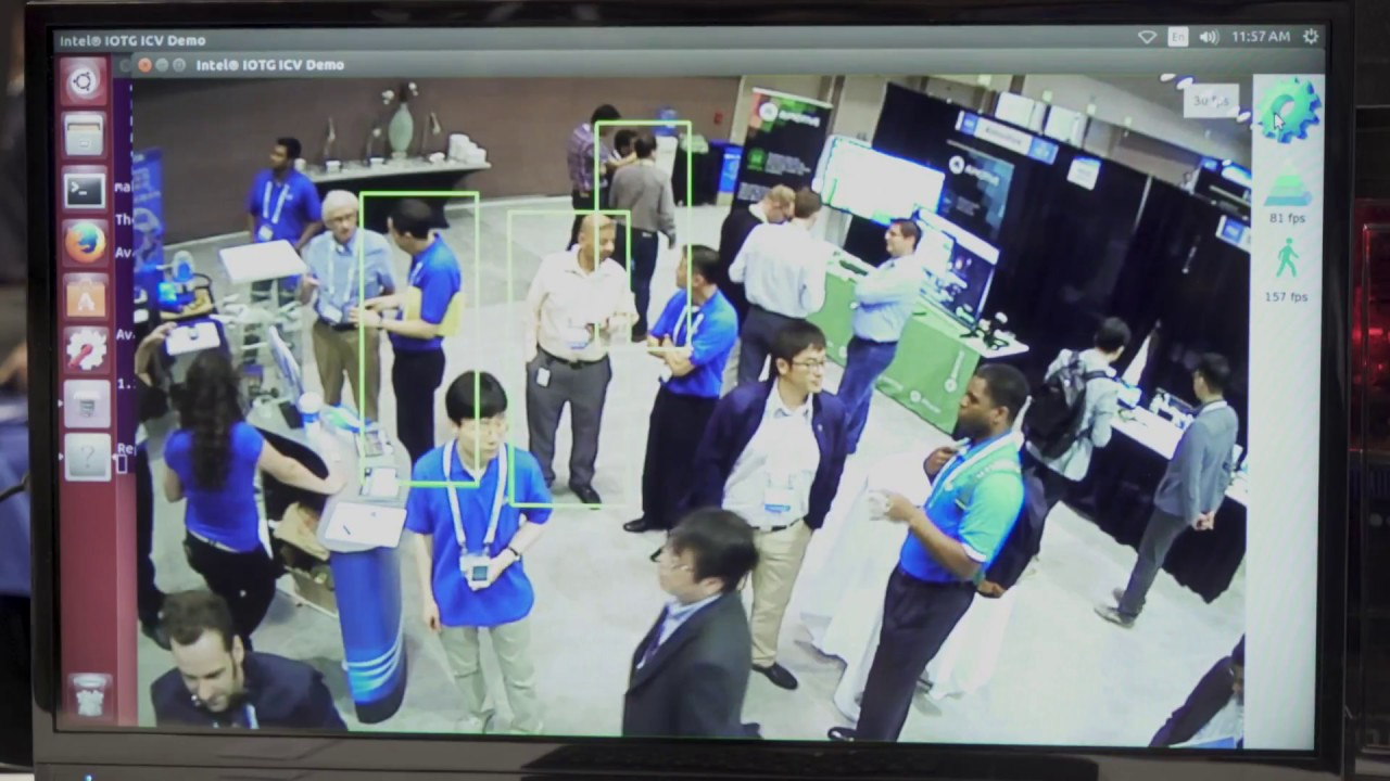 Intel Demonstration of FPGA-accelerated Video Analytics in Security and  Surveillance
