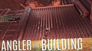 GETTING AN ANGLER AND TOWER BUILD - Official 6 Man Tribe Servers (E8) - ARK Survival
