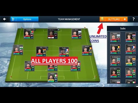 How To Hack Dream League Soccer 2018 (Unlimited Coins And All Players 100 )