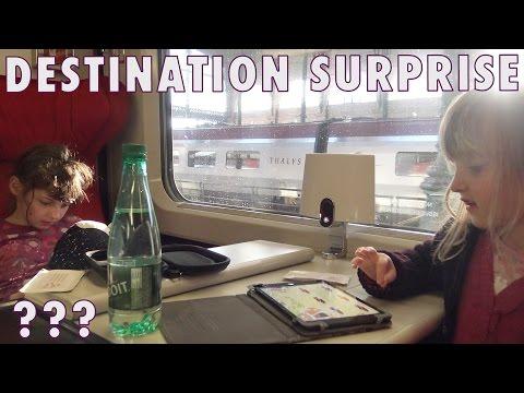 VLOG • Kalys prend le Thalys ! Mais pour aller où ?? - Studio Bubble Tea