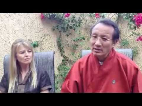 Interview with Lama Chonam & Sangye Khandro - Nyingma Kama Empowerments