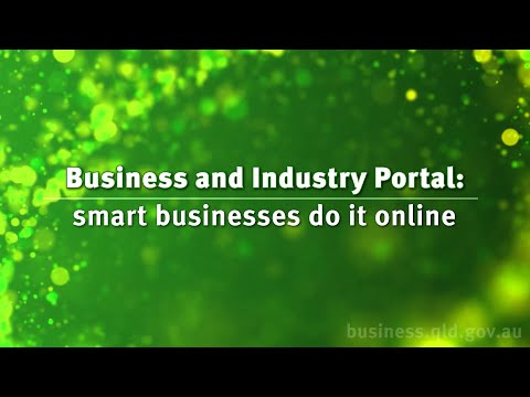 Business and industry portal: smart businesses do it online