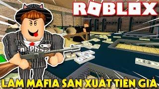 Roblox | KIA LÀM MAFIA XÂY CĂN CỨ SẢN XUẤT TIỀN GIẢ - ☠️ Mafia Tycoon | KiA Phạm