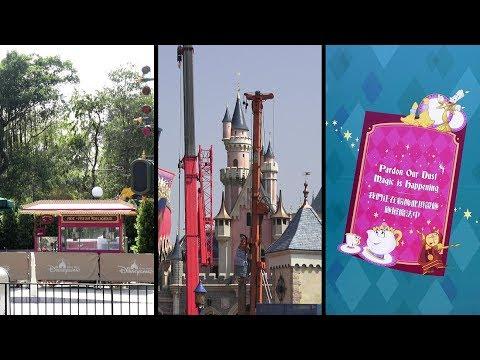 180206 Castle Transformation Construction Update at Hong Kong Disneyland丨香港迪士尼樂園城堡擴建工程狀況更新