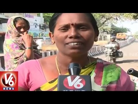 Currency Demonetization Effect On Transport Sector In Hyderabad City | V6 News