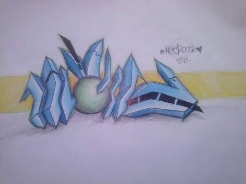 Boceto Graff 3D como Hacerlo 2014 - YouTube