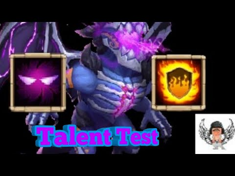 Skeletica Talent Test | Flame Guard Vs Unholy Pact [CASTLE CLASH]