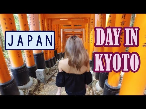 First Day in KYOTO - Sightseeing for a Day | KimDao