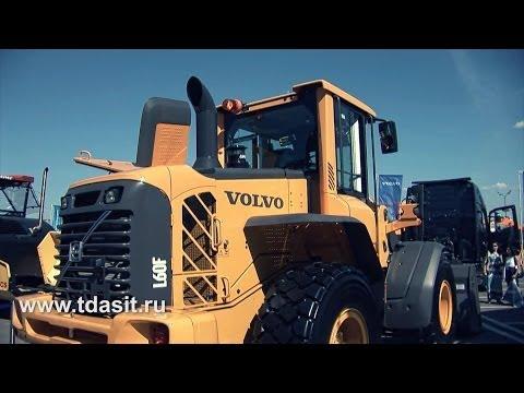 Обзор погрузчика Volvo L60F