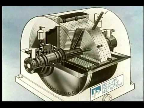 Podbielniak Accelerated Solvent Extraction (Liquid-Liquid) Centrifuge