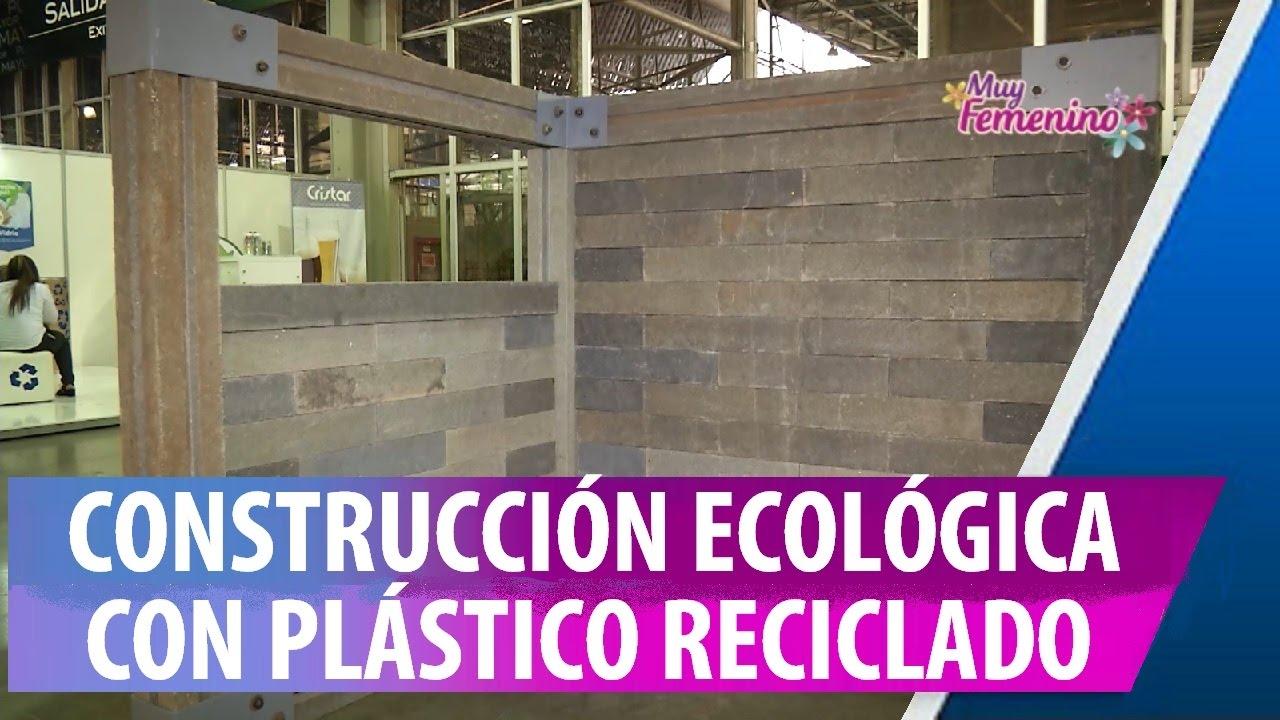 Construcci n ecol gica con ladrillos de pl stico reciclado - Materiales de construccion tarragona ...