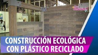 Construcción Ecológica con Ladrillos de Plástico Reciclado