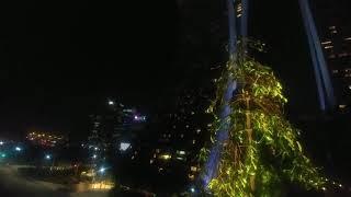 Ночной вид на 3 башни отеля