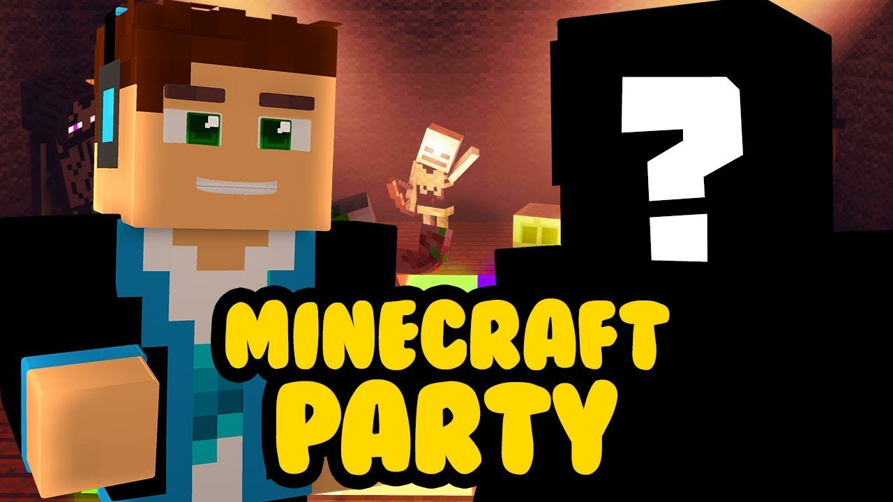 UCZĘ GO GRAĆ! – MINECRAFT PARTY #123