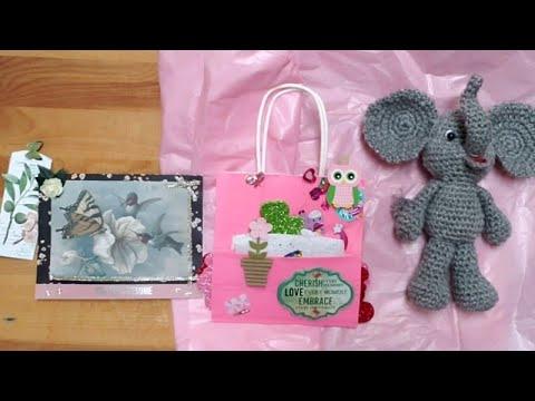 Amigurumi Elephant Bookmark Crochet Pattern | Supergurumi | 360x480