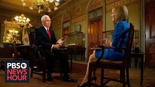Watch our interview with Vice President Mike Pence