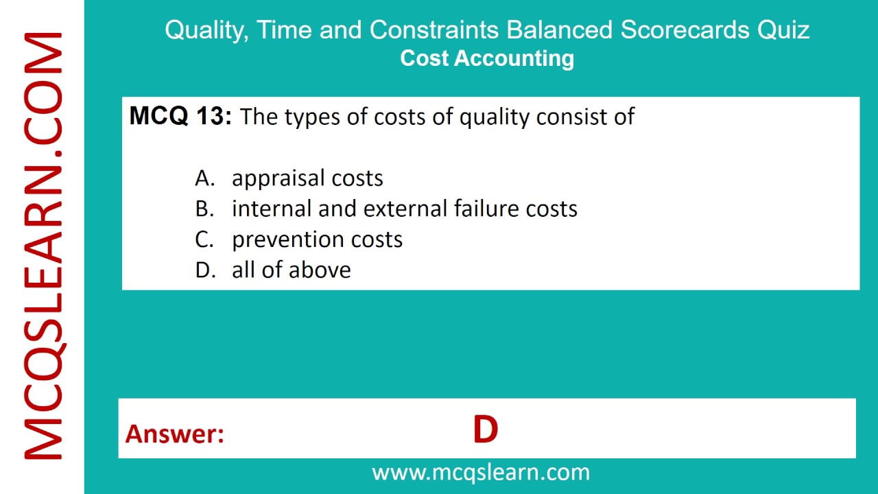 balanced scorecard quality time and the theory of constraints Balanced scorecard: quality, time and theory of constraints quality as a competitive tool  simple time presumptions theory of constraints and throughput- contribution analysis  make payment for accounting for spoilage, rework and scrap with balanced scorecard (london) full name telephone number.