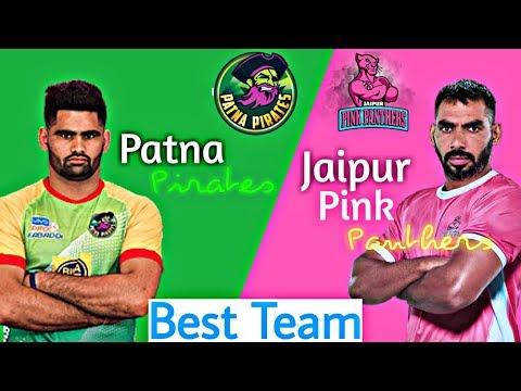 Patna Pirates vs Jaipur Pink Panthers Teams Battles