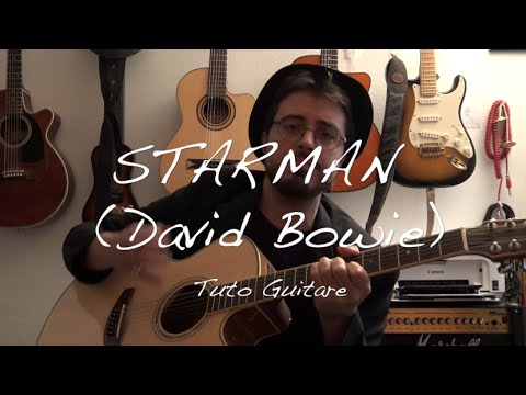 Starman (David Bowie) - Tutoriel Guitare 12 cordes + TABS