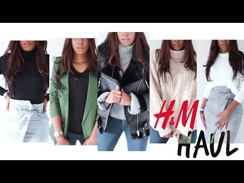 H&M HAUL   MY FALL LOOKBOOK   HOW TO LOOK STYLISH, CLASSY & EXPENSIVE ON A BUDGET