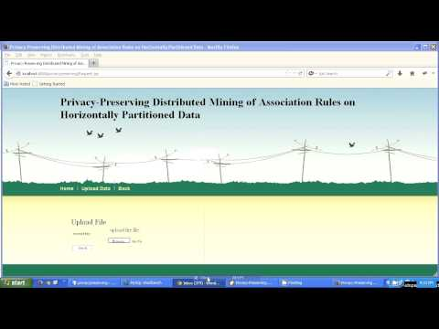 Privacy-preserving Distributed Mining Of Association Rules On Horizontally Partitioned Data