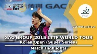 Korea Open 2015 Highlights: MACHI Asuka vs YOSHIDA Masaki U21 (FINAL)