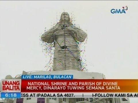 National Shrine and Parish of Divine Mercy, dinarayo tuwing Semana Santa