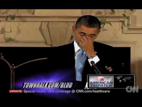 """Obama's """"Poker Face"""" During Healthcare Summit"""