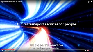 Digital transport services for people
