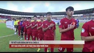 Tin Thể Thao 24H Hôm Nay (7h - 26/9): Thua IRan, U16 Việt Nam Tan Mộng World Cup