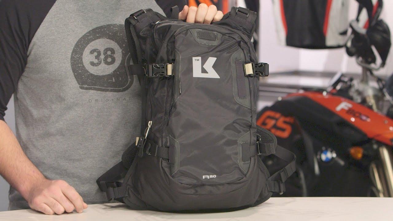 c70d05af5b1 Kriega R20 Backpack Review at RevZilla.com - YouTube