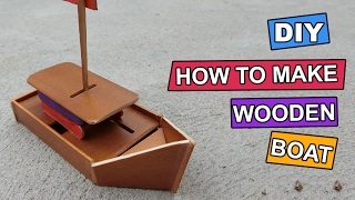 In this diy project, we are making a diy wooden boat or wooden ships toy that can float on the water. Crafts materials you need to ...