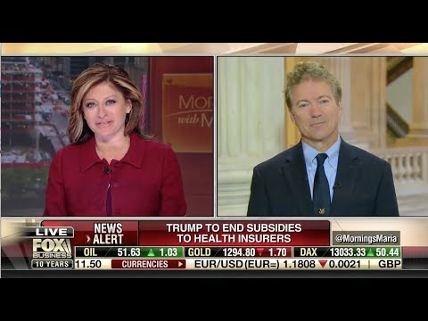 Sen. Rand Paul on Expanding Access to Group Insurance  - October 13, 2017