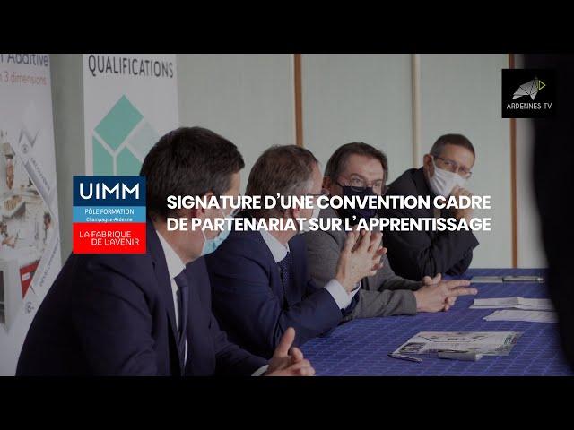 Convention cadre de partenariat sur l'apprentissage