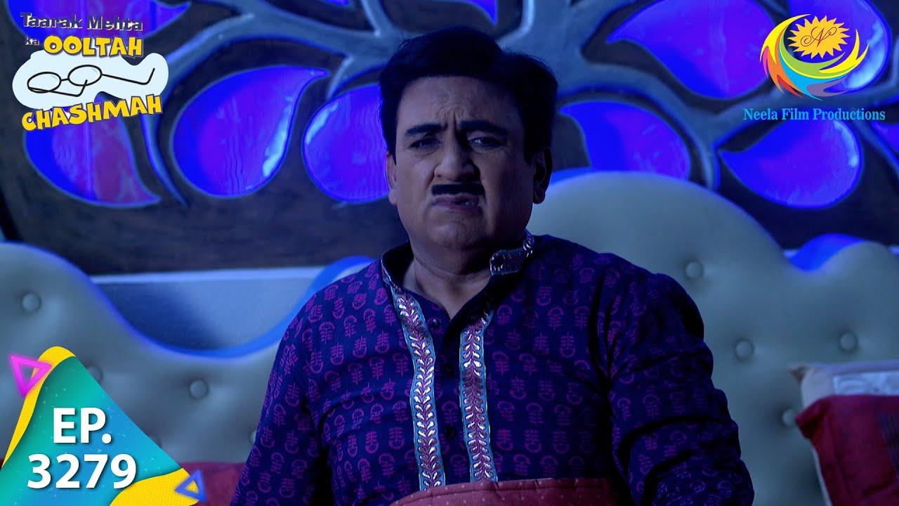 Download Taarak Mehta Ka Ooltah Chashmah - Ep 3279 - Full Episode - 18th October 2021