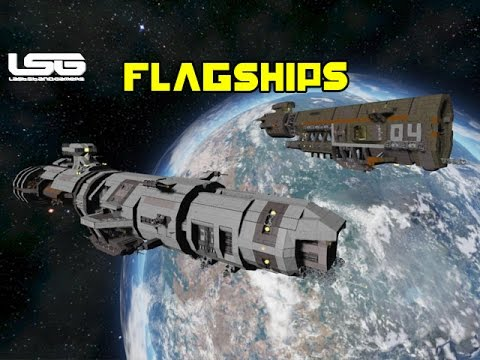Space Engineers - Flagships Support Vessel Fractured Space