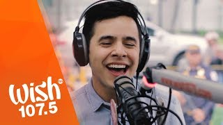 "David Archuleta performs ""Invincible"" LIVE on Wish 107.5 Bus"