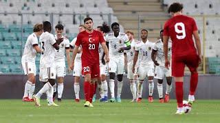 Türkiye 0-3 Belçika | 2023 UEFA 21 Yaş Altı Avrupa Şampiyonası Elemeleri | MAÇI