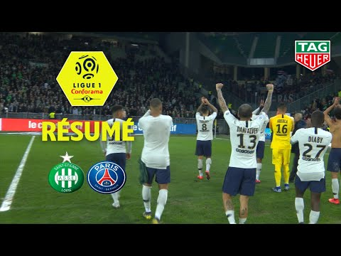 AS Saint-Etienne - Paris Saint-Germain ( 0-1 ) - Résumé - (ASSE - PARIS) / 2018-19