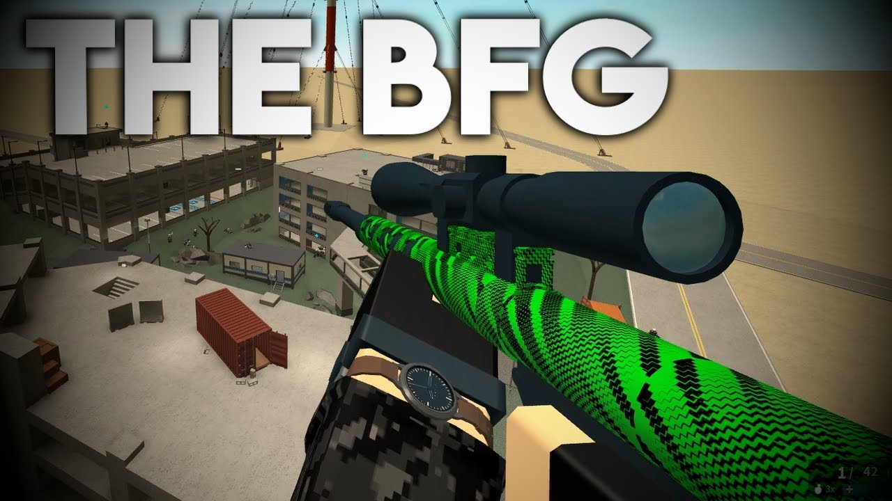 Roblox Phantom Forces Bfg 50 The Bfg Roblox Phantom Forces Youtube