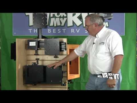 Morryde Tv40 002 Cargo Bay Pull Out Amp Swivel Rv Tv Mount