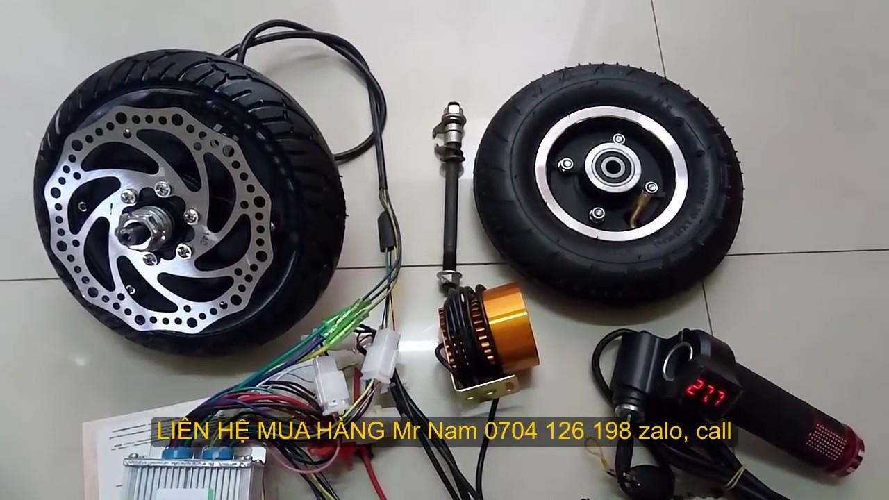 36v350w  Bộ chế xe scooter PHANH ĐĨA  Cách dùng SẠC ac quy