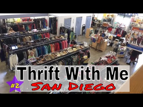 THRIFTING DESIGNER | Thrift With Me In Escondido/San Diego |  HOW TO THRIFT SHOP LIKE A PRO