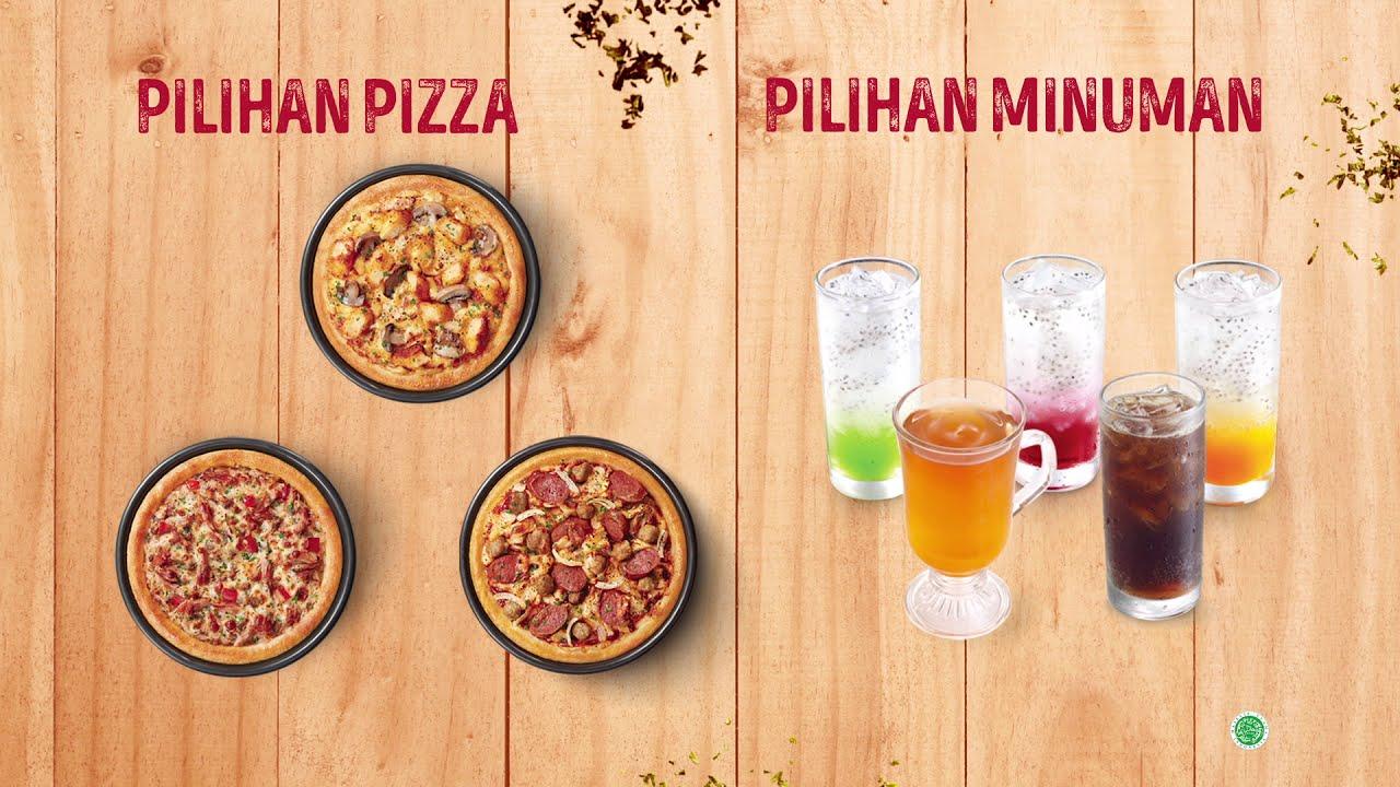Paket Sensasi HEBAT, Hemat Banget dengan pilihan Pizza baru