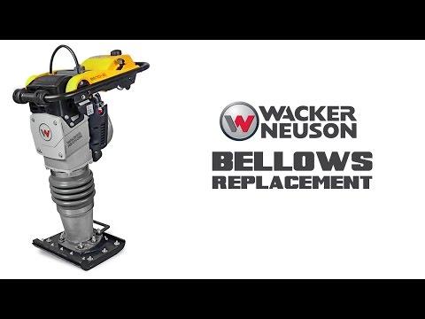 Filling The Ramming System Oil Wacker Neuson Rammer YouTube