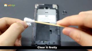 How to repalce Sony Xperia Sp camera lens in 2 minutes