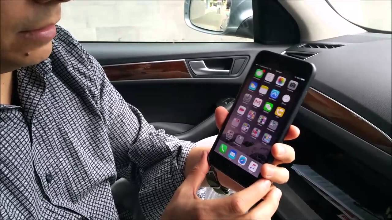 How To Play Music From Iphone 6 Via Bluetooth Wireless In An Audi